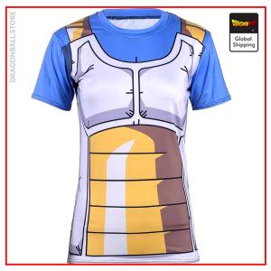 DBZ Compression T-Shirt Vegeta S Official Dragon Ball Z Merch