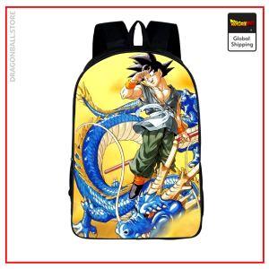 Dragon Ball Z Backpack Blue Goku & Shenron Default Title Official Dragon Ball Z Merch