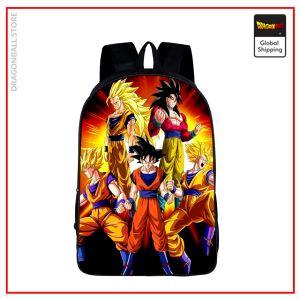 Dragon Ball Backpack  Goku Transformations Default Title Official Dragon Ball Z Merch