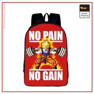 Dragon Ball Z Backpack  No Pain No Gain Default Title Official Dragon Ball Z Merch