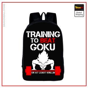 Dragon Ball Z Backpack  Training To Beat Goku Default Title Official Dragon Ball Z Merch