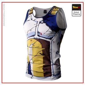 Dragon Ball Z Tank Top  Vegeta Combat S Official Dragon Ball Z Merch