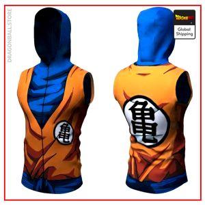 DBZ Hooded Tank Top  Son Goku S Official Dragon Ball Z Merch