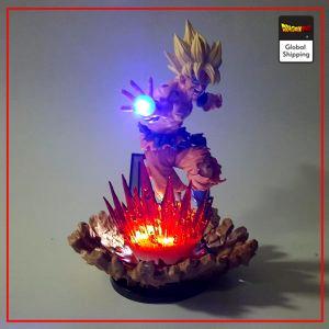 Dragon Ball Z Goku Super Saiyan 1 LED Figure Default Title Official Dragon Ball Z Merch