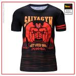 Compression T-Shirt  Saiyagym S Official Dragon Ball Z Merch