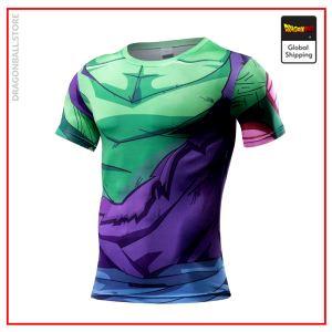 Compression T-Shirt  Piccolo Fight XS Official Dragon Ball Z Merch