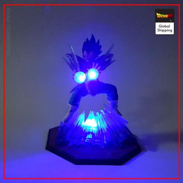 Dragon Ball Z Vegeta Double Kikoha LED Figure Default Title Official Dragon Ball Z Merch