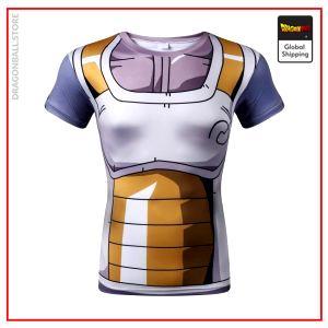 DBZ Compression T-Shirt Super Vegeta XS Official Dragon Ball Z Merch