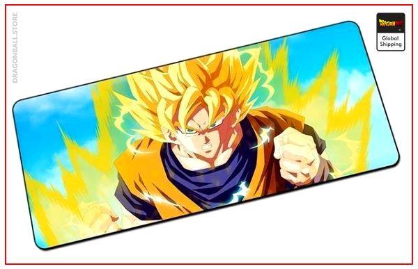 Dragon Ball Mouse Pad  Super Saiyan 2 (LARGE) Default Title Official Dragon Ball Z Merch
