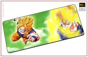 Dragon Ball Mouse Pad  Sangoku Original (LARGE) Default Title Official Dragon Ball Z Merch