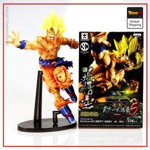 DBZ Figure  Son Goku Super Saiyan Default Title Official Dragon Ball Z Merch
