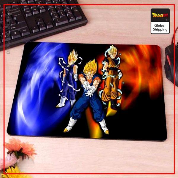 Dragon Ball Mouse Pad  Super Vegeto (MEDIUM) LITTLE Official Dragon Ball Z Merch