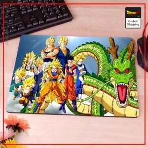 Dragon Ball Mouse Pad  Manga Saiyan (MEDIUM) 18 x 22cm (SMALL) Official Dragon Ball Z Merch