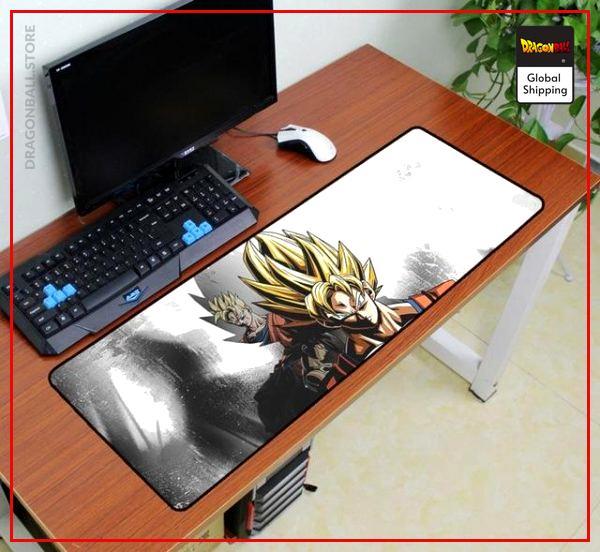 Dragon Ball Mouse Pad  Goku Super Saiyan (XXL) Default Title Official Dragon Ball Z Merch
