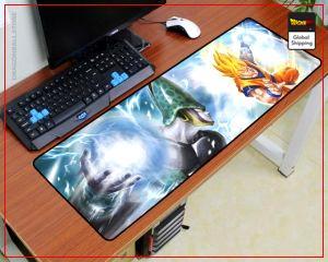 Dragon Ball Mouse Pad  Son Goku vs Cell (XXL) Default Title Official Dragon Ball Z Merch