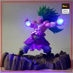 Dragon Ball Z Broly Super Saiyan 3 LED Figure Default Title Official Dragon Ball Z Merch