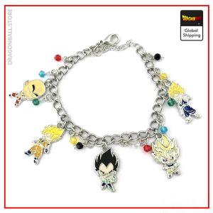 Dragon Ball Z Bracelet (x5 Characters) Default Title Official Dragon Ball Z Merch