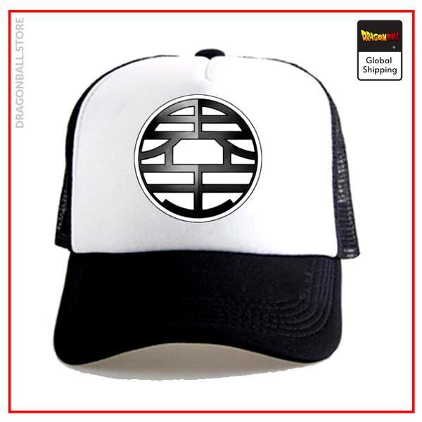 Dragon Ball Z Cap  Kaio White/Black Official Dragon Ball Z Merch