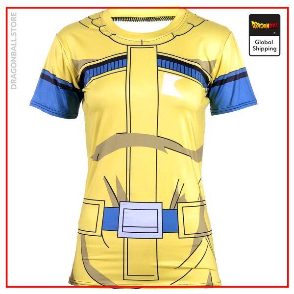 DBZ Compression T-Shirt Bulma V2 S Official Dragon Ball Z Merch