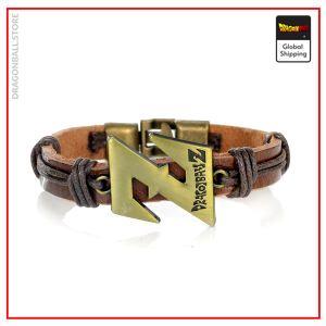 Dragon Ball Z bracelet  Sangoku (Brown leather) Default Title Official Dragon Ball Z Merch