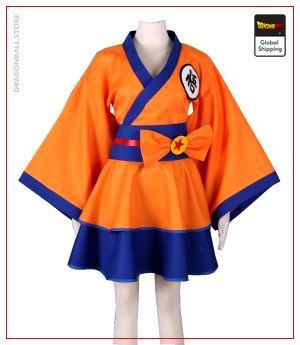 Dragon Ball Z costume Goku Kimono Female Size / XS / DRAGON BALL Official Dragon Ball Z Merch