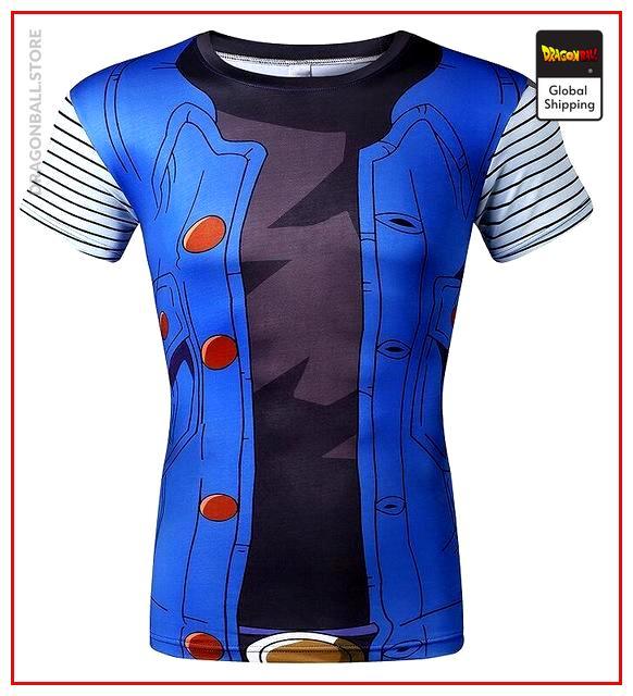 DBZ Compression T-Shirt C-18 XS Official Dragon Ball Z Merch