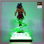 Dragon Ball Z Broly Saiyan Aura LED Figure Default Title Official Dragon Ball Z Merch