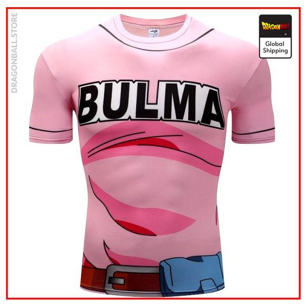 DBZ Compression T-Shirt Bulma XS Official Dragon Ball Z Merch