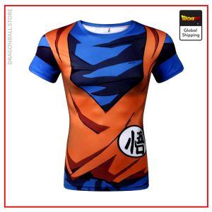 DBZ Compression T-Shirt Goku picture color 17 / XS Official Dragon Ball Z Merch