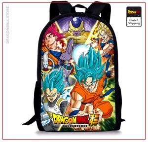 Dragon Ball S Backpack  Vegeta Blue Default Title Official Dragon Ball Z Merch