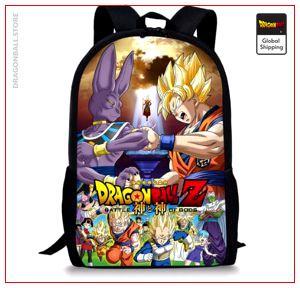 Dragon Ball S Backpack  Battle of Gods Default Title Official Dragon Ball Z Merch