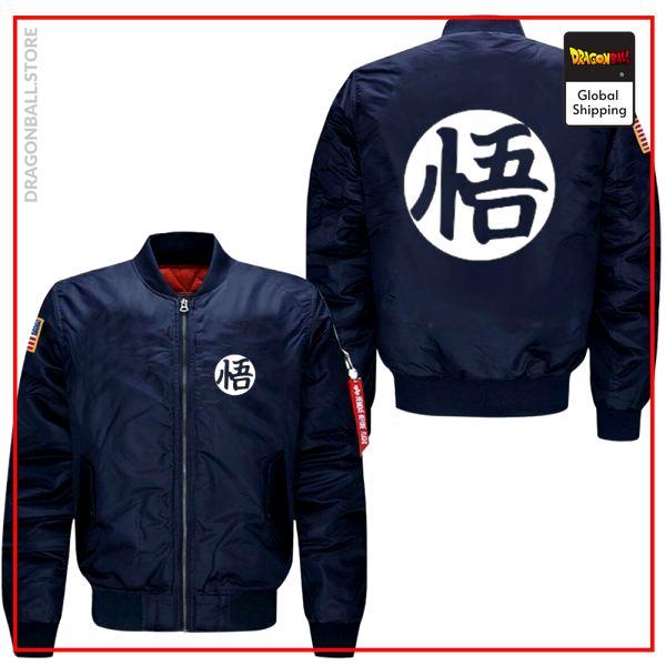 DBZ Bomber Jacket  American Style Black / M Official Dragon Ball Z Merch