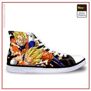 Dragon Ball Z shoes  Goku vs Majin Vegeta 37 Official Dragon Ball Z Merch