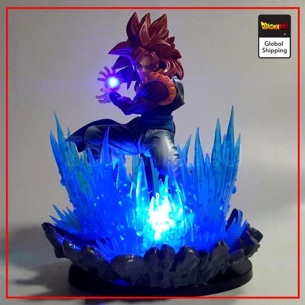 Dragon Ball GT Gogeta Super Saiyan 4 LED Figure Default Title Official Dragon Ball Z Merch