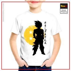 T-Shirt DBZ Child Saiyan Warrior 3 years Official Dragon Ball Z Merch