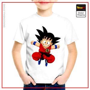 T-Shirt DBZ Child  Goku Jump 3 years Official Dragon Ball Z Merch