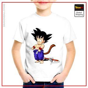 T-Shirt DBZ Child  Magic Stick 3 years Official Dragon Ball Z Merch