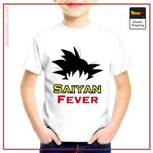 T-Shirt DBZ Child  Saiyan Fever 3 years Official Dragon Ball Z Merch