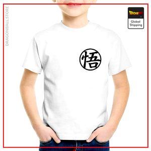 "T-Shirt DBZ Child  Kanjis Kanji ""Go"" / 3 years Official Dragon Ball Z Merch"