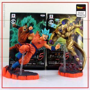 Dragon Ball Z Figure Golden Freezer vs Goku Default Title Official Dragon Ball Z Merch