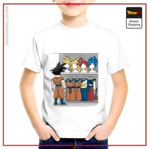 T-Shirt DBZ Child  Secret Cabinet 3 years Official Dragon Ball Z Merch