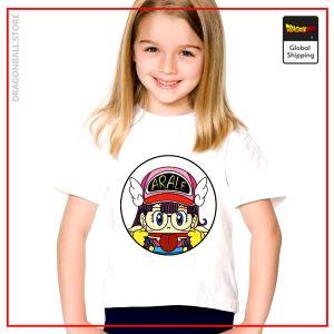 T-Shirt DBZ Child  Arale Grimace 3 years Official Dragon Ball Z Merch