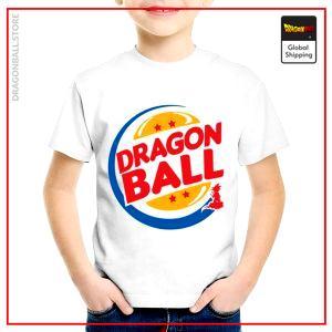T-Shirt DBZ Child  Burger King 3 years Official Dragon Ball Z Merch