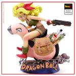 Sexy DBZ Figure Lunch Moto Red Motorcycle Official Dragon Ball Z Merch