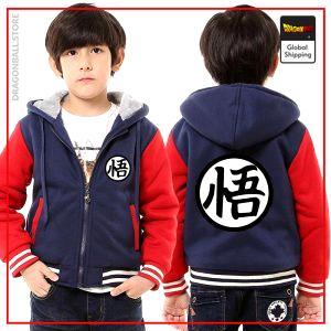 "DBZ Kids Jacket  Kanji ""Go"" Black & Grey / 3 years Official Dragon Ball Z Merch"