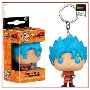 Funko POP Keychain  DBS Goku Blue Default Title Official Dragon Ball Z Merch