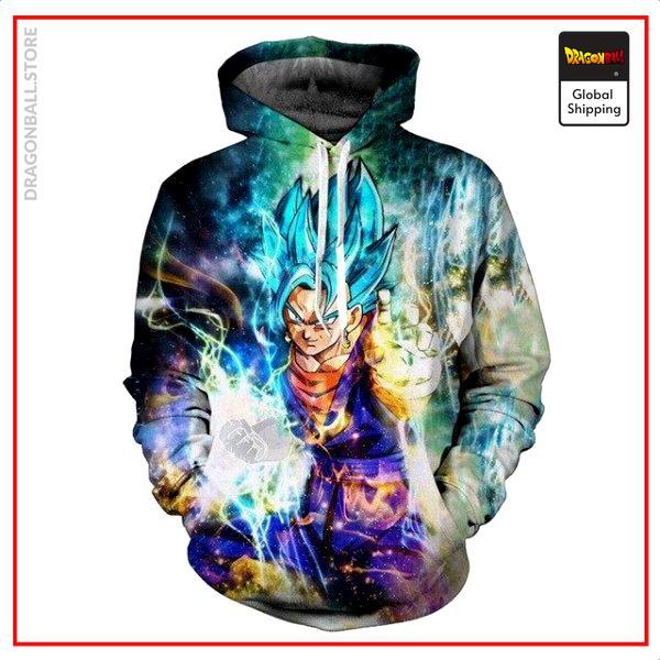 Dragon Ball Super Sweatshirt  Vegeto Energy S Official Dragon Ball Z Merch