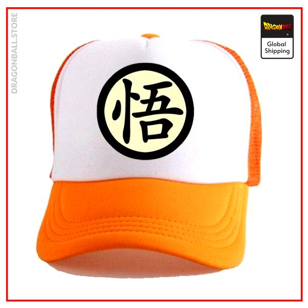 Dragon Ball Z Cap  Go White/Orange Official Dragon Ball Z Merch