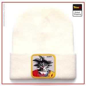 Dragon Ball Z Beanie  Goku True Warrior White Official Dragon Ball Z Merch