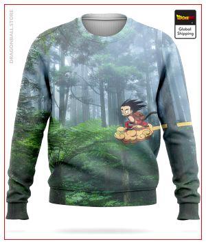 Dragon Ball Sweater  Supersonic Cloud S Official Dragon Ball Z Merch